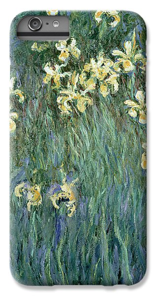 The Yellow Irises IPhone 6 Plus Case by Claude Monet