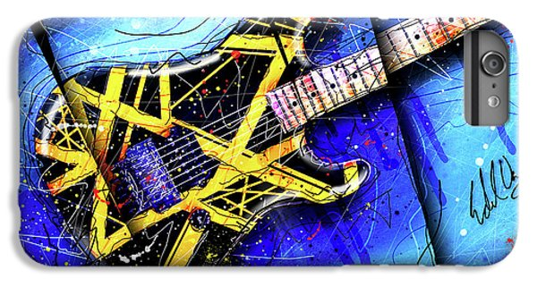 The Yellow Jacket_cropped IPhone 6 Plus Case by Gary Bodnar