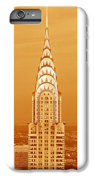 Chrysler Building At Sunset IPhone 6 Plus Case by Panoramic Images