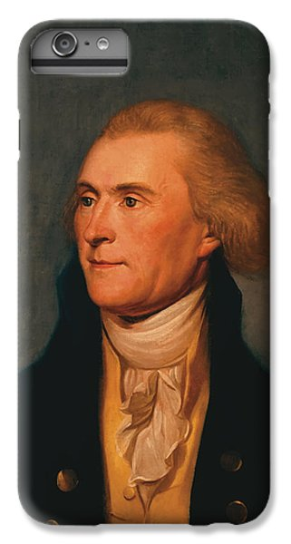 Thomas Jefferson IPhone 6 Plus Case by War Is Hell Store