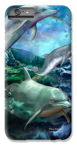 Three Dolphins IPhone 6 Plus Case