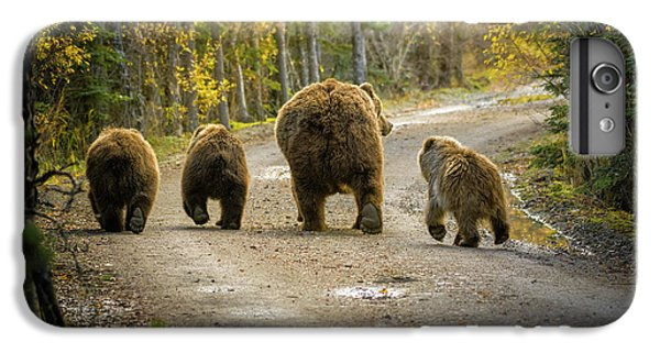 Nature Trail iPhone 6 Plus Case - Bear Bums by Chad Dutson