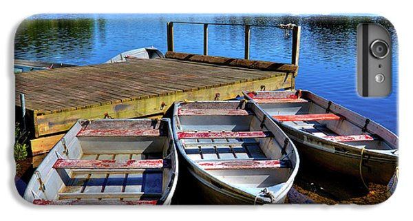 Three Rowboats IPhone 6 Plus Case by David Patterson