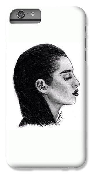 iPhone 6 Plus Case - Lauren Jauregui Drawing By Sofia Furniel by Jul V