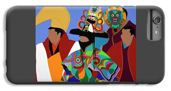 iPhone 6 Plus Case - Tibetan Monks Cham Dancer by Synthia SAINT JAMES