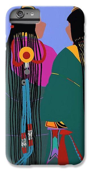 iPhone 6 Plus Case - Tibetan Women by Synthia SAINT JAMES