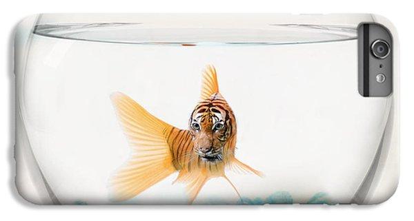 Tiger Fish IPhone 6 Plus Case by Juli Scalzi