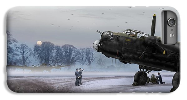 IPhone 6 Plus Case featuring the photograph Time To Go - Lancasters On Dispersal by Gary Eason