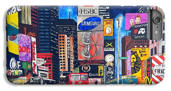 Times Square IPhone 6 Plus Case by Autumn Leaves Art