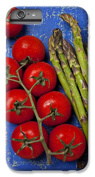 Tomatoes And Asparagus  IPhone 6 Plus Case by Garry Gay
