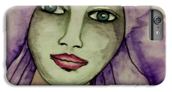 iPhone 6 Plus Case - Tonights #face #portrait by Robin Mead