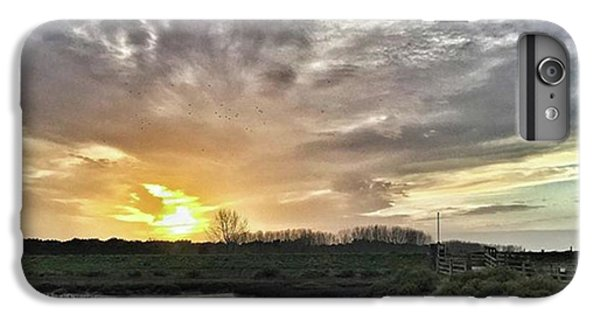 iPhone 6 Plus Case - Tonight's Sunset From Thornham by John Edwards