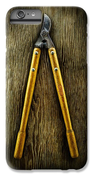 Scenic iPhone 6 Plus Case - Tools On Wood 34 by YoPedro