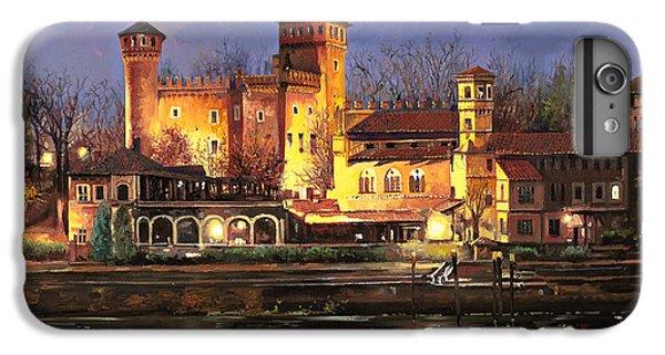 Castle iPhone 6 Plus Case - Torino-il Borgo Medioevale Di Notte by Guido Borelli