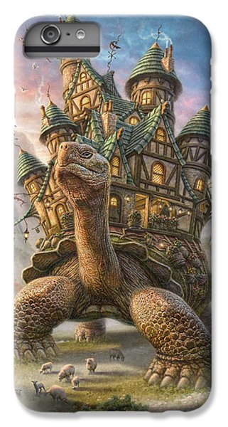 Garden Snake iPhone 6 Plus Case - Tortoise House by Phil Jaeger