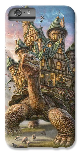 Fantasy iPhone 6 Plus Case - Tortoise House by Phil Jaeger