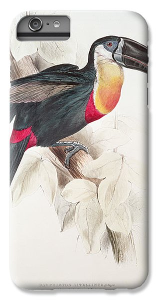 Toucan iPhone 6 Plus Case - Toucan by Edward Lear
