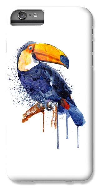 Toucan iPhone 6 Plus Case - Toucan by Marian Voicu