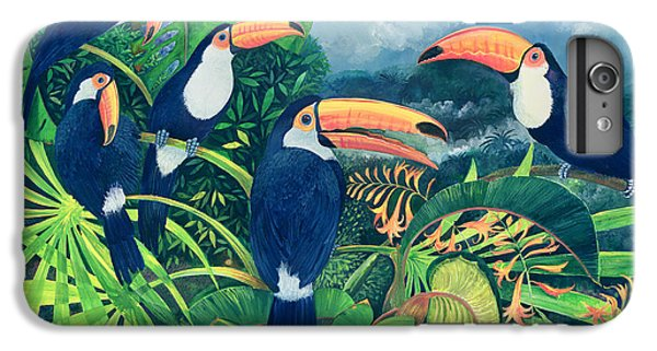 Toucan Talk IPhone 6 Plus Case by Lisa Graa Jensen