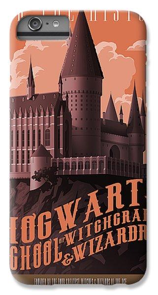 Wizard iPhone 6 Plus Case - Tour Hogwarts Castle by Christopher Ables