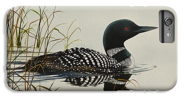 Loon iPhone 6 Plus Case - Tranquil Stillness Of Nature by James Williamson