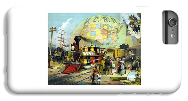 Train iPhone 6 Plus Case - Transcontinental Railroad by War Is Hell Store