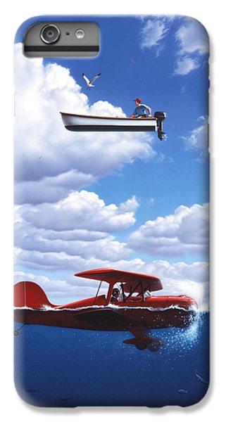 Seagull iPhone 6 Plus Case - Transportation by Jerry LoFaro
