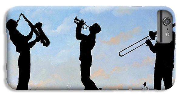 Trumpet iPhone 6 Plus Case - tre by Guido Borelli