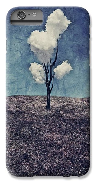 Scenic iPhone 6 Plus Case - Tree Clouds 01d2 by Aimelle