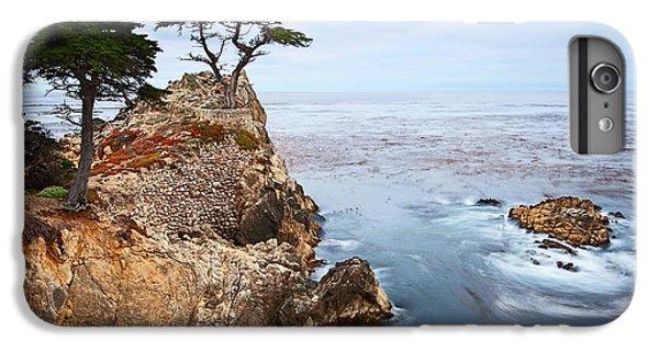 Water Ocean iPhone 6 Plus Case - Tree Of Dreams - Lone Cypress Tree At Pebble Beach In Monterey California by Jamie Pham