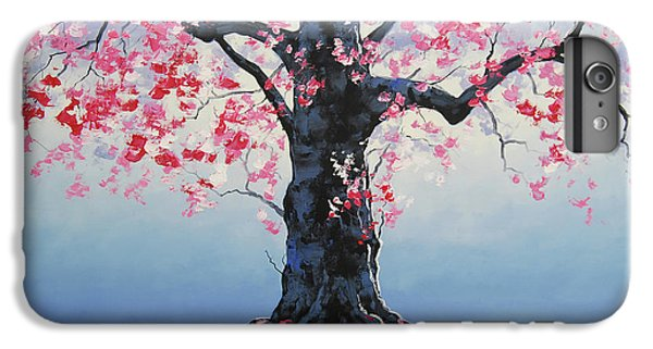 Salmon iPhone 6 Plus Case - Tree Of Life by Graham Gercken