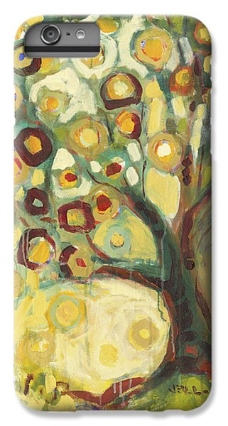 Abstract iPhone 6 Plus Case - Tree Of Life In Autumn by Jennifer Lommers