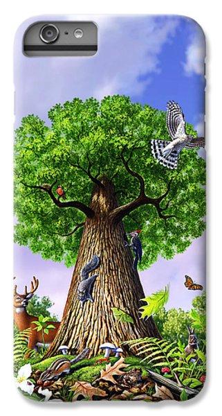 Newts iPhone 6 Plus Case - Tree Of Life by Jerry LoFaro