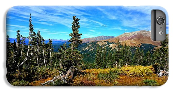 IPhone 6 Plus Case featuring the photograph Treeline by Karen Shackles