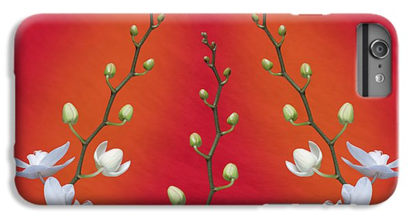 Trifecta Of Orchids IPhone 6 Plus Case by Tom Mc Nemar