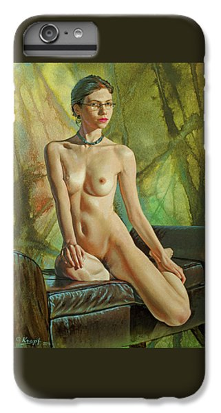 Nudes iPhone 6 Plus Case - Trisha 235 In Abstract by Paul Krapf