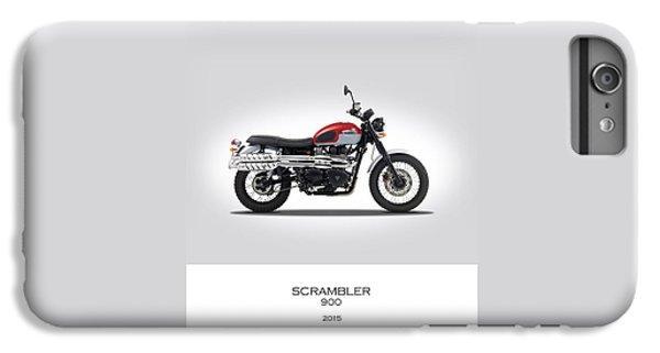 Triumph Scrambler 2015 IPhone 6 Plus Case by Mark Rogan