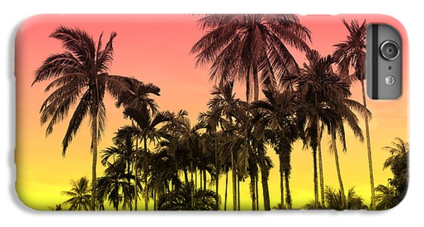 Flowers iPhone 6 Plus Case - Tropical 9 by Mark Ashkenazi