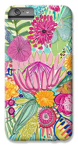 Flowers iPhone 6 Plus Case - Tropical Foliage by Rosalina Bojadschijew