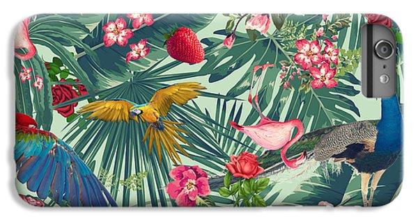 Tropical Fun Time  IPhone 6 Plus Case by Mark Ashkenazi