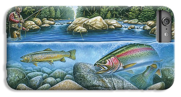 Trout View IPhone 6 Plus Case by JQ Licensing
