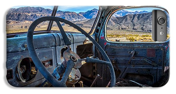 Truck Desert View IPhone 6 Plus Case by Peter Tellone