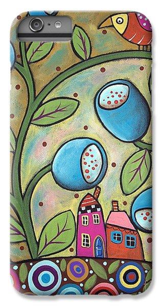 Tulip Town IPhone 6 Plus Case
