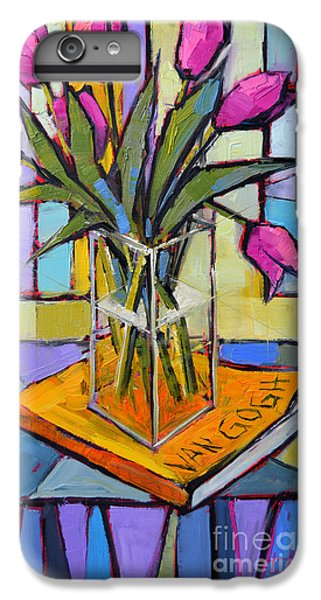 Tulips And Van Gogh - Abstract Still Life IPhone 6 Plus Case