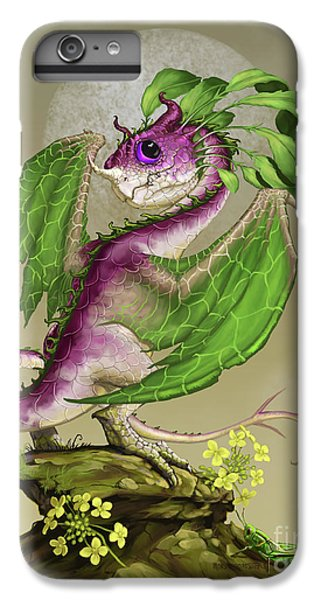 Cricket iPhone 6 Plus Case - Turnip Dragon by Stanley Morrison