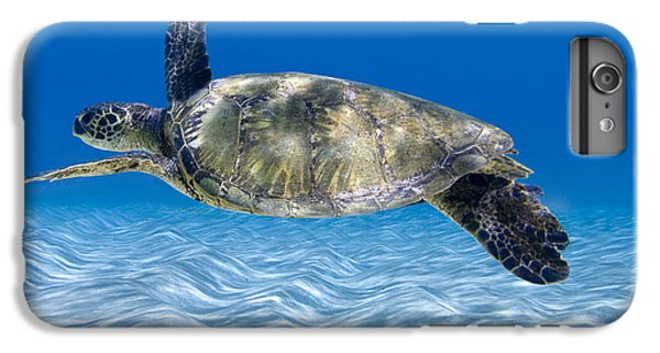 Turtle Flight -  Part 2 Of 3  IPhone 6 Plus Case by Sean Davey