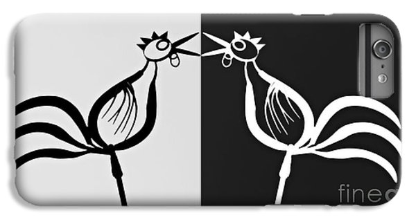 Two Crowing Roosters 3 IPhone 6 Plus Case