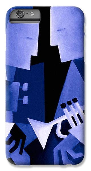 Jazz iPhone 6 Plus Case - Two For The Blues by Thomas Andersen