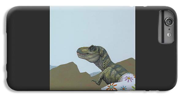 Tyranosaurus Rex IPhone 6 Plus Case by Jasper Oostland
