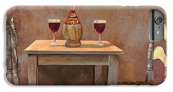 Wine iPhone 6 Plus Case - un fiasco di Chianti by Guido Borelli